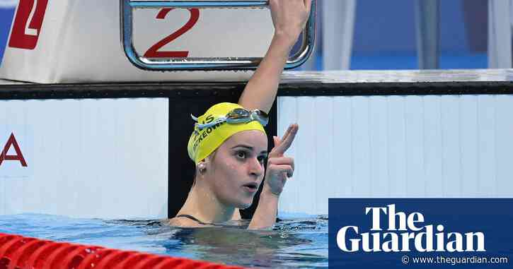 Kaylee McKeown leads Australian charge as Olympic swimming medal haul swells
