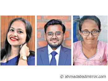 3 students laugh all the way to bank with dream jobs - Ahmedabad Mirror