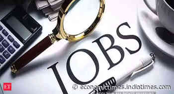 Jobs: Economic recovery pushes hiring intent to 15 month high in Q2 - Economic Times