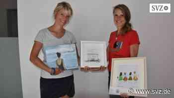 Sternberg: Sabrina Malchow und Nicole Kohröber bereiten neue Ausstellung vor   svz.de - svz – Schweriner Volkszeitung
