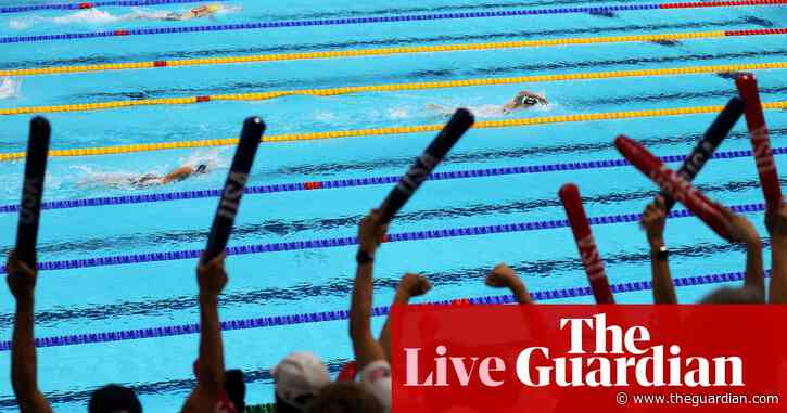Tokyo 2020 Olympics: GB win mixed relay, Ledecky beats Titmus but more Australian medals, athletics and more – live!