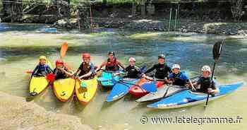 Les kayakistes en stage de perfectionnement à Lanester - Le Télégramme
