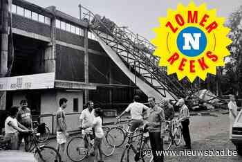 """Exact 35 jaar geleden richtte een zomerstorm een enorme ravage aan in Lokeren en Sint-Niklaas: """"En toen gingen de tent en dak van stadion de lucht in"""""""
