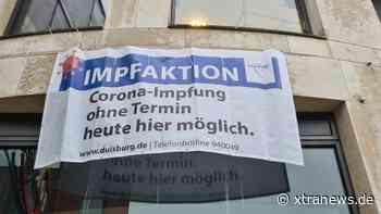 Stadt Duisburg bietet wieder Sonderimpfaktionen im Stadtgebiet an - xtranews