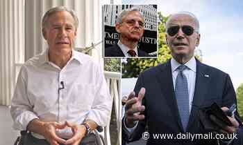 Greg Abbott claims Biden administration has caused a 'constitutional crisis' after DOJ sues Texas