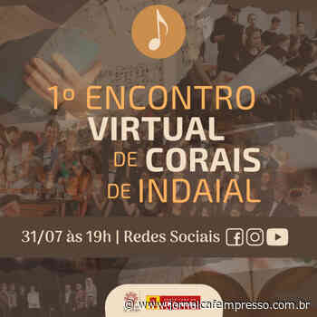 FIC apresenta 1° Encontro Virtual de Corais de Indaial neste sábado (31) - Jornal Café Impresso