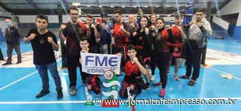 Indaial conquista 2º lugar geral no Campeonato Catarinense de Kickboxing 2021 - Jornal Café Impresso