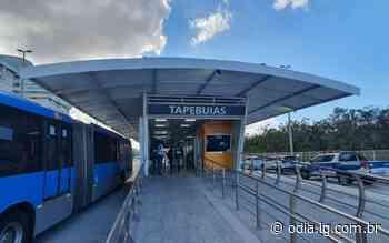 BRT Rio: Estação Tapebuias é reaberta na Zona Oeste - O Dia