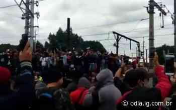 Manifestação em Deodoro paralisa circulação de trens - O Dia