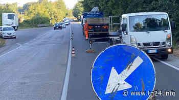 Fiuggi – Lavori di potatura sulla Strada Regionale 155 in zona Ranuccio - TG24.info