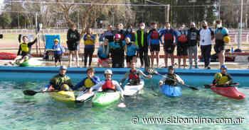 Importante clínica de kayak polo dio en San Rafael el pampeano Pablo Garro - Sitio Andino