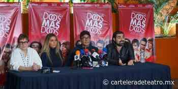 Regresa Adal Ramones con DOS MÁS DOS al Teatro San Rafael - Cartelera de Teatro
