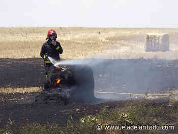 Incendio en San Rafael por un accidente en las labores de limpieza de vegetación - El Adelantado de Segovia