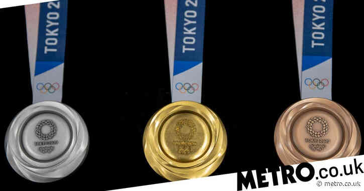 Tokyo Olympics: What are gold, silver and bronze medals made from?