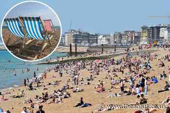 Brighton crowned UK's eighth sunniest staycation spot