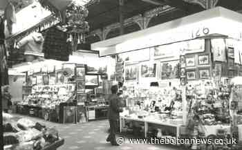 Fascinating photos show life in Bolton Market Hall in 70s