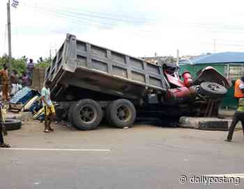 Truck crushes four to death in Kogi - Daily Post Nigeria
