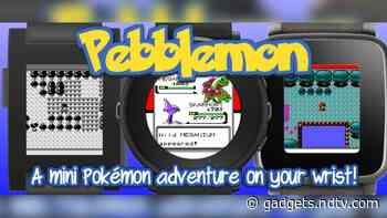 Pokemon on Pebble? Pebblemon Brings a Clone of the Classic Game to Your Smartwatch