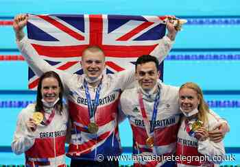 Chorley's Anna Hopkin wins her first gold medal as Team GB take Olympic swimming relay by storm