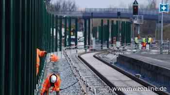 Bahnhofs-Umbau in Sande abgeschlossen: Züge rollen nun über 14 Kilometer neue Gleise - Nordwest-Zeitung