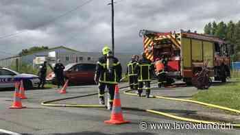 Un dégagement accidentel de styrène dans la zone industrielle d'Auchel - La Voix du Nord