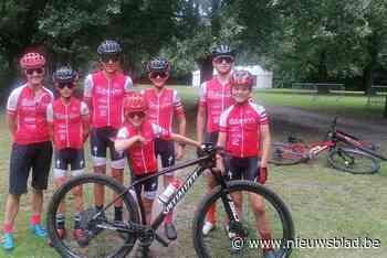 Mountainbikers palmen fort van Kessel in (Nijlen) - Het Nieuwsblad