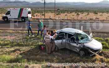 Choque en la rúa a Delicias deja dos lesionados - El Diario de Chihuahua