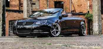 2009er VW Eos mit Airride vom Volcano-Wheels-CEO! - tuningblog.eu