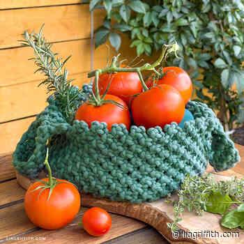 Macrame Garden Basket