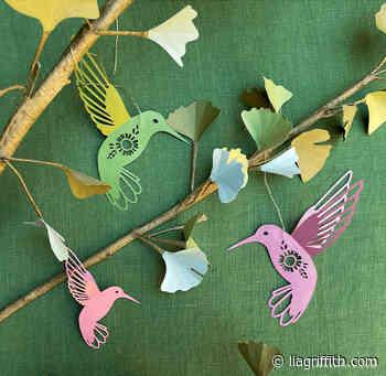 Papercut Hummingbirds