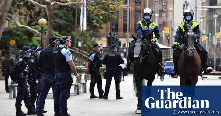 Sydney anti-lockdown protest blocked as organisers vow to regroup in August