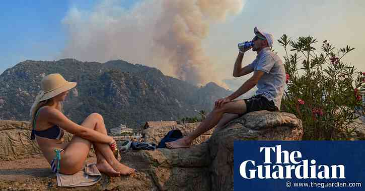 Turkish fires sweeping through tourist areas are the hottest on record