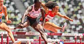 """""""Om de finale te halen, moet ik mijn Belgisch record verbeteren"""": Zagré spurt naar halve finale 100m horden, Broeders overleeft kwalificaties polsstokspringen niet - Het Laatste Nieuws"""