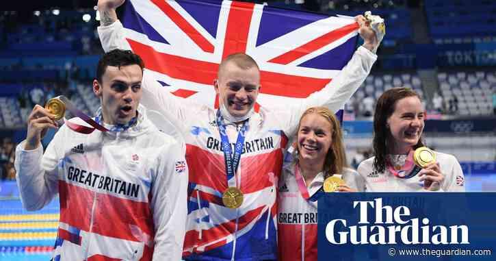 Team GB smash world record to win Tokyo 4x100m mixed medley relay gold