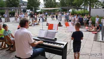 Platzkonzert im Hof der Stadtschule Gaildorf: Feine Klänge von Barock bis Moderne - SWP