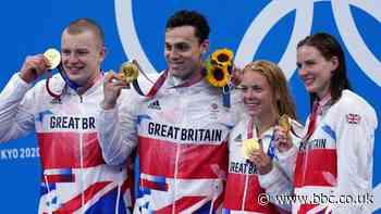 Tokyo Olympics: Great Britain win 4x100m mixed medley relay gold