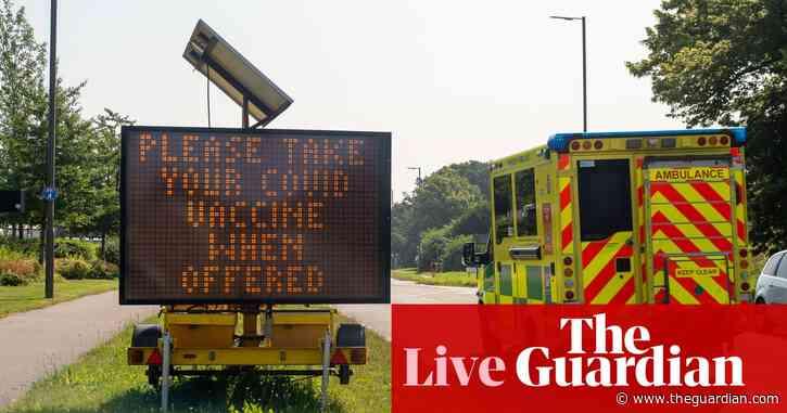 Coronavirus live: UK businesses warned over 'no jab no job' policies, Germany anti-lockdown protests banned