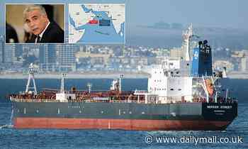 Israel accuses 'Iranian terrorism' of being behind 'suicide drone' attack on oil tanker