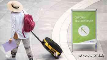 Entscheidung über Testpflicht für Reiserückkehrer soll heute noch fallen - BILD