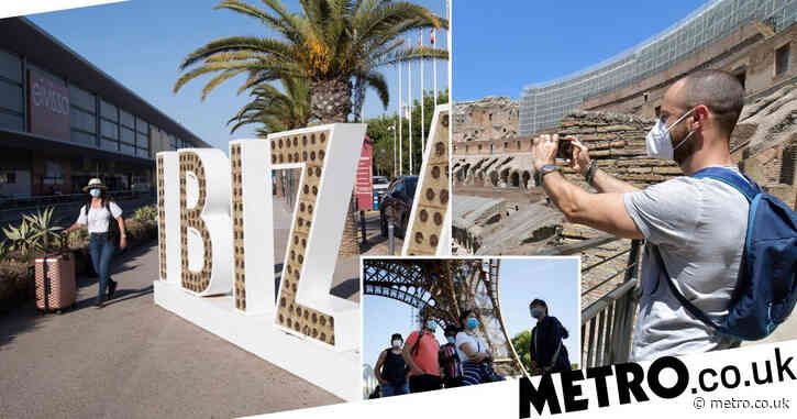 Summer holidays at risk as Spain and Italy could go on new 'danger' watch list'