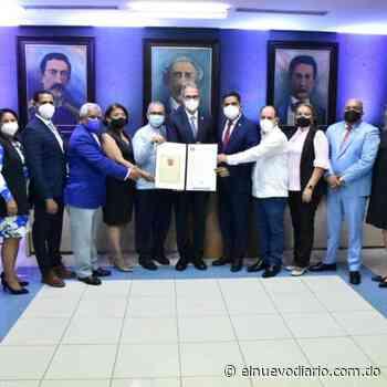 Ayuntamiento de La Vega reconoce a José Mármol como hijo meritísimo - El Nuevo Diario (República Dominicana)