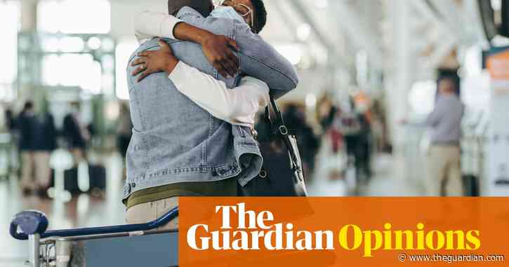 I love watching airport arrivals. The reunions say: life is better now you're here | Rory Kinnear
