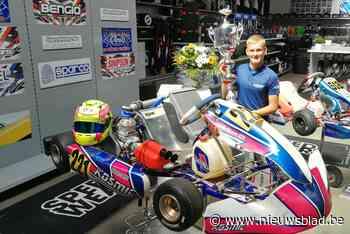 Kartpiloot Ean (13) rijdt zich naar Europees brons