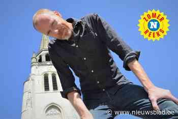 """Comedian David Galle (40) op wandel door Wervik, de stad waar hij opgroeide: """"Jammer dat ze zelf niet zien wat een pracht er hier is"""" - Het Nieuwsblad"""