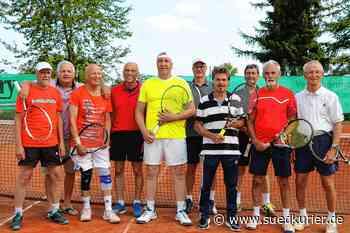Bonndorf: Den Tennisschläger muss man auch nicht im hohen Alter beiseite legen – und dafür gibt es Vorbilder - SÜDKURIER Online