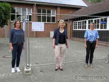 Sanierung der Turnhalle Hermann-Billung-Grundschule Hermannsburg hat begonnen - Celler Presse