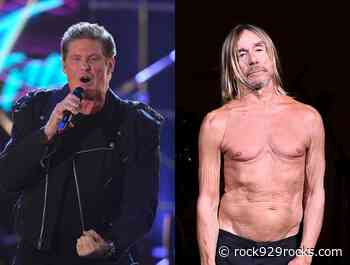 David Hasselhoff Releases Cover of Iggy Pop's 'The Passenger' - Rock 92.9