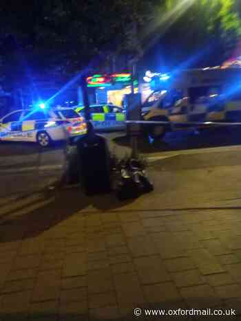 Man cut on neck and police officer assaulted in Oxford
