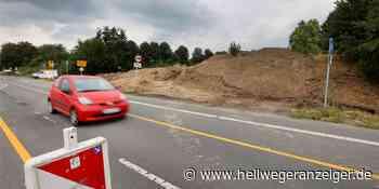 Auf der Erich-Ollenhauer-Straße wird es richtig eng   Bergkamen - Hellweger Anzeiger