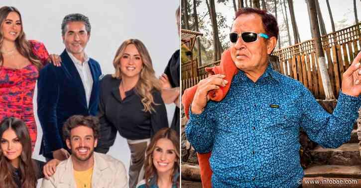 """La sentida despedida de Andrea Legarreta y Galilea Montijo a Sammy Pérez: """"Era un hombre con gran ternura y gracia"""" - infobae"""